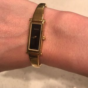 Gucci Jewelry - Vintage Gucci watch, 2001, mint condition!